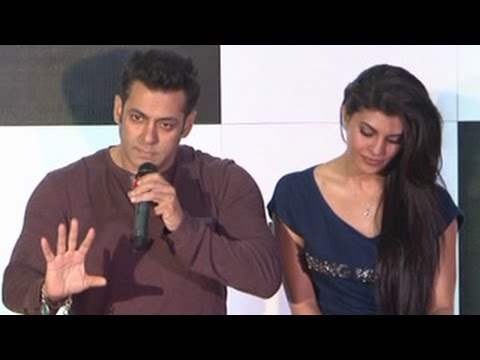 Salman Khan Angry With Media at KICK Game Launch - UNCUT Interview