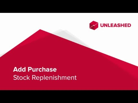 Unleashed Purchase Order
