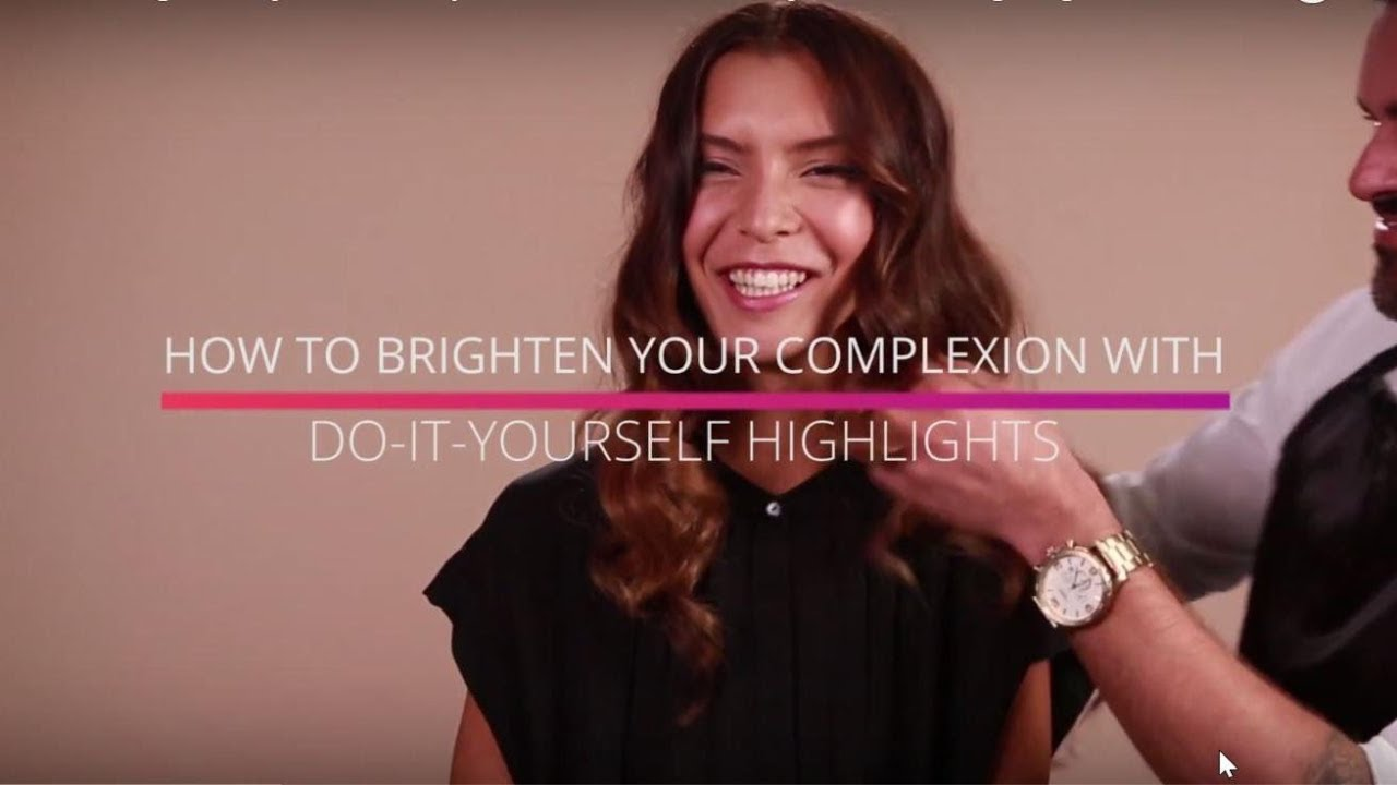 How to brighten your complexion with do it yourself highlights youtube how to brighten your complexion with do it yourself highlights solutioingenieria Gallery