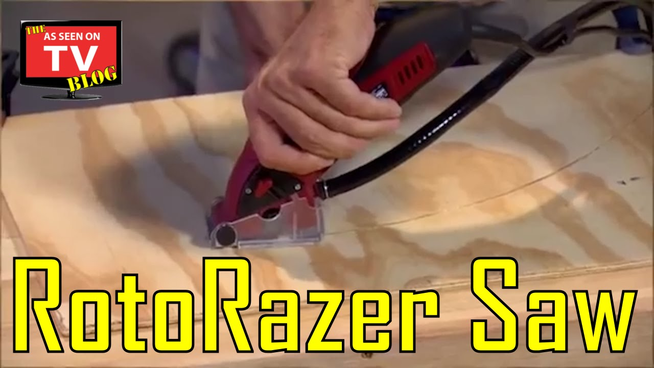 9b2248bb74 RotoRazer Saw As Seen On TV Commercial | Buy Roto Razer Saw - YouTube