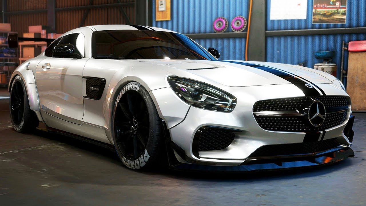 Build A Camaro >> MERCEDES AMG GT BUILD - Need for Speed: Payback - Part 60 - YouTube