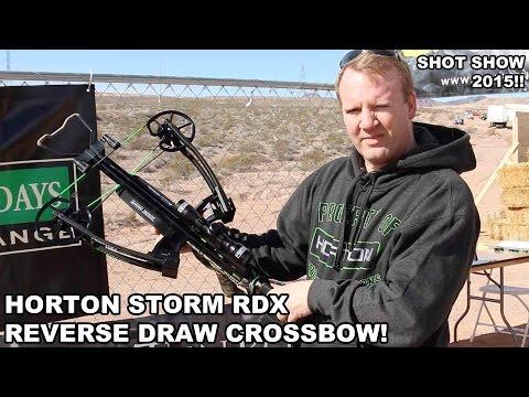 Horton Storm RDX! Reverse Draw Crossbow