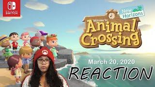 MandyleePlays Reaction To Animal Crossing New Horizons