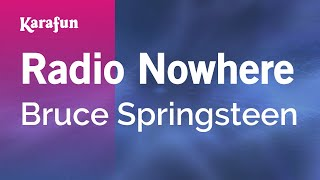Karaoke Radio Nowhere - Bruce Springsteen *