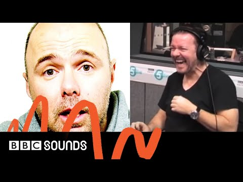 When Ricky Gervais & Richard Bacon cold called Karl Pilkington | BBC Sounds