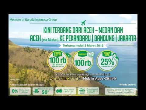 Talkshow: CITILINK Kini Terbang Dari Aceh