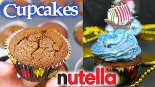 Cupcakes de Nutella   ¡Sólo 3 Ingredientes!   Mi Cocina Rápida ft La Cocina del Pirata