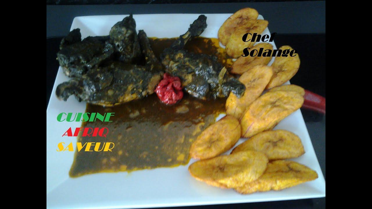 Mbongo O Lapin Cameroun Cuisine Africaine Youtube