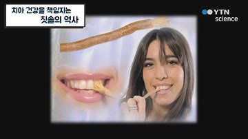 치아 건강을 책임지는 칫솔의 역사 / YTN 사이언스
