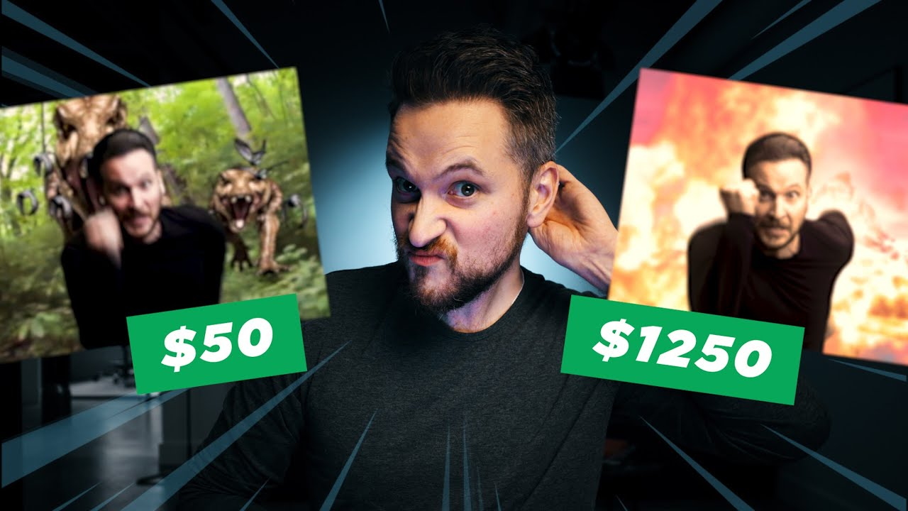 I Paid VFX 'Artists' to edit my green screen footage!