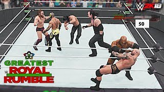 WWE 2K18 - 50-Man Greatest Royal Rumble Match! Greatest Royal Rumble 2018