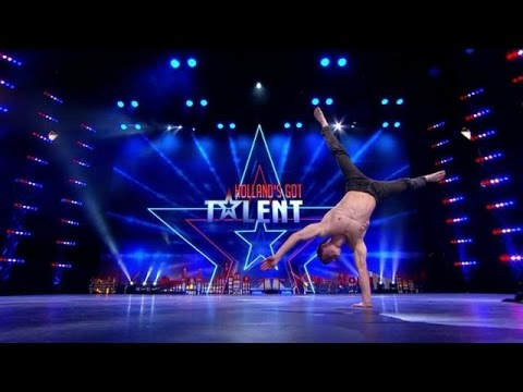 Angela jaloers op Pauls talent  - HOLLAND'S GOT TALENT