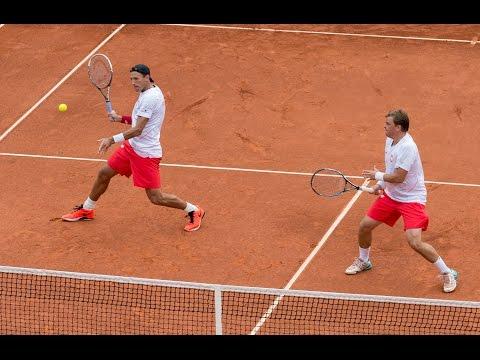 Highlights: Daniel Brands/Daniel Masur (GER) V Lukasz Kubot/Marcin Matkowski (POL)