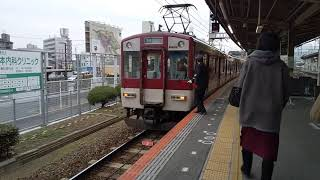 【近鉄】手際良く増結作業をする古市駅