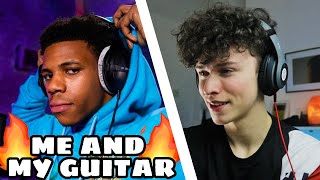 FIRST TIME hearing A BOOGIE WIT DA HOODIE - ME AND MY GUITAR (Reaction) (Genius Live Performance)