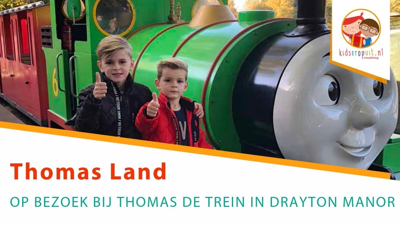 Wonderbaar Thomas Land in Drayton Manor: voor alle fans van Thomas de Trein ID-63