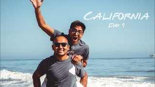 I WENT TO CALI FOR THE FIRST TIME | Day 1