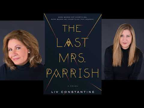 Kendall & Cooper talk Mysteries with Lynne & Valerie, (Liv) Constantine