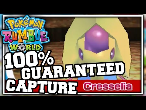 How To Catch A Pokemon In Pokemon Rumble World Without Failing! (Nintendo 3DS)