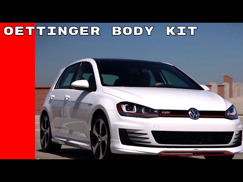 VW Oettinger Body Kit Install