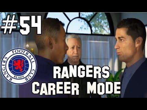 RONALDO JOINS RANGERS! FIFA 20 RANGERS CAREER MODE EPISODE 54