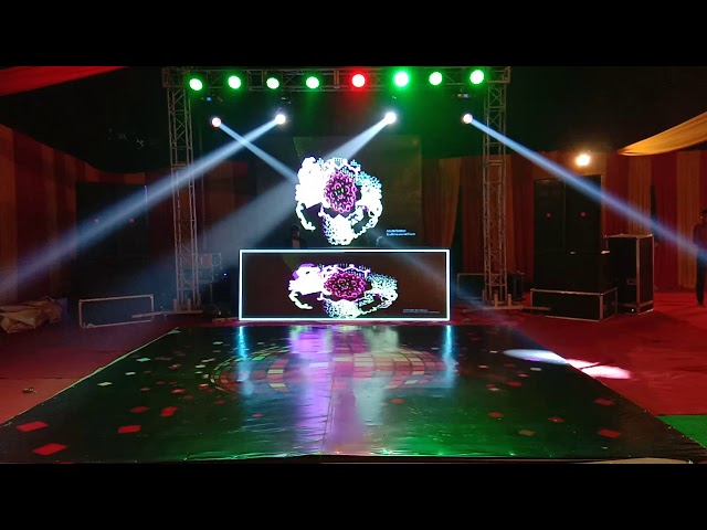 Dj with led console n lighting in delhi ncr