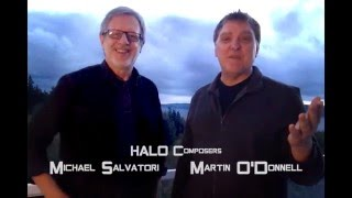HALO Composers Michael Salvatori and Martin O'Donnell introduce their classic theme.