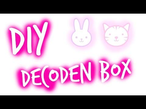 how to deco den a box :)