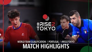 Leonardo Mutti/Niagol S. vs Choong J./Wong Qi S. | 2020 World Team Qualification (R64)