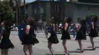 Montebello HS - U.S. Field Artillery March - 2005 Sherman Oaks Band Review
