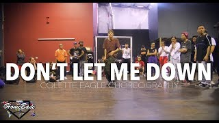 Don't Let Me Down by Sabrina Claudio | Colette Eagle Choreography | HBIP 2018