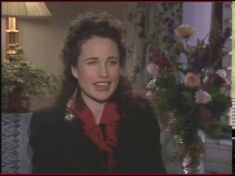 The Famous  Andie MacDowell Slaps Me Demonstration