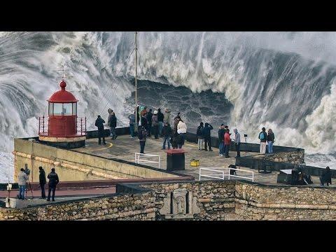Portogallo da amare: Nazarè e le onde più alte al mondo ..