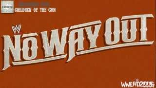 WWE No Way Out 2012 Official Promo  Theme - Children Of The Gun +HD/DL