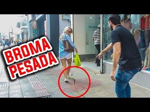 Las Mejores BROMAS PESADAS De La SERPIENTE l Humor l Videos De Risa