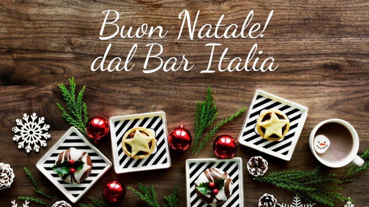 Buon Natale Italia.Auguri Di Buon Natale Da Il Bar Italia Youtube