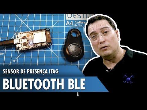 Sensor de Presença com iTag Bluetooth BLE