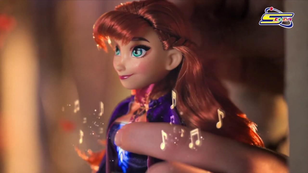 خوضي تجربة ممتعة مع Frozen 2 Singing Dolls