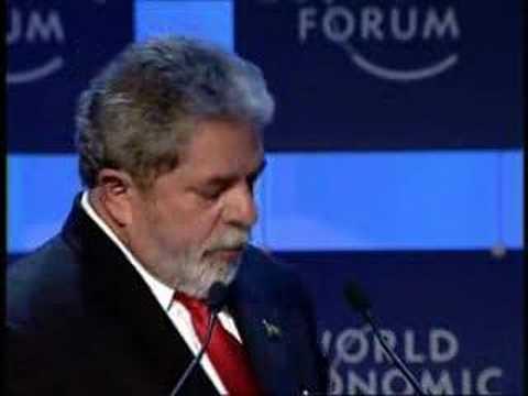 Davos Annual Meeting 2005 - Luiz Inacio Lula da Silva