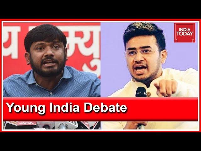 Kanhaiya Kumar Vs Tejasvi Surya   What Does Young India Want: Nationalism Or Jobs?