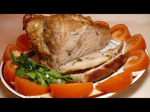 Запеченное мясо в духовке / Сочная запеченная свинина