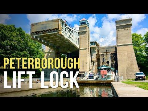 Peterborough Lift Lock - Peterborough, Ontario, Canada