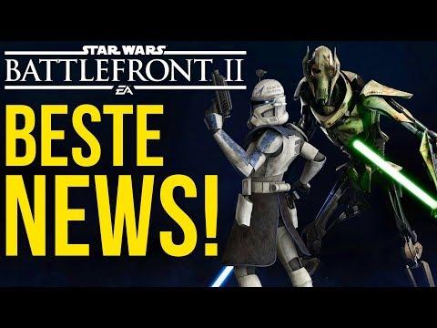 BESTE NEWS! Grievous Inhalte, Captain Rex möglich und 2019! Star Wars Battlefront 2 | NEWS thumbnail