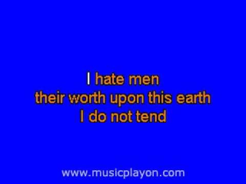 I Hate Men Kiss Me, Kate (MusicPlayOn.com)