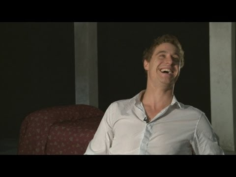 Max Irons Interview Pt 2:  Accents and would he model with Cara Delevingne