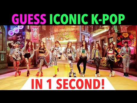 GUESS ICONIC K-POP IN 1 SECOND - CHALLENGE #2