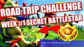 Fortnite - Road Trip Challenge Secret Battlestar Location Week #1