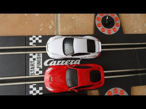 Carrera Go, Slot cars racing