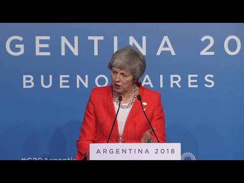 Press Conference of Theresa May, Prime Minister of the United Kingdom