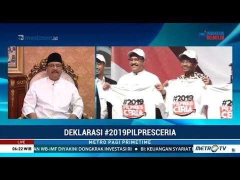Gelombang Deklarasi Dukung Jokowi-Ma'ruf : Terbaru #2019PilpresCeria